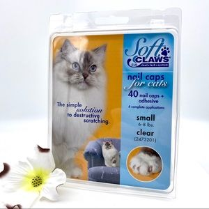 NIB SoftClaws (SoftPAWS) for Cats in CLEAR